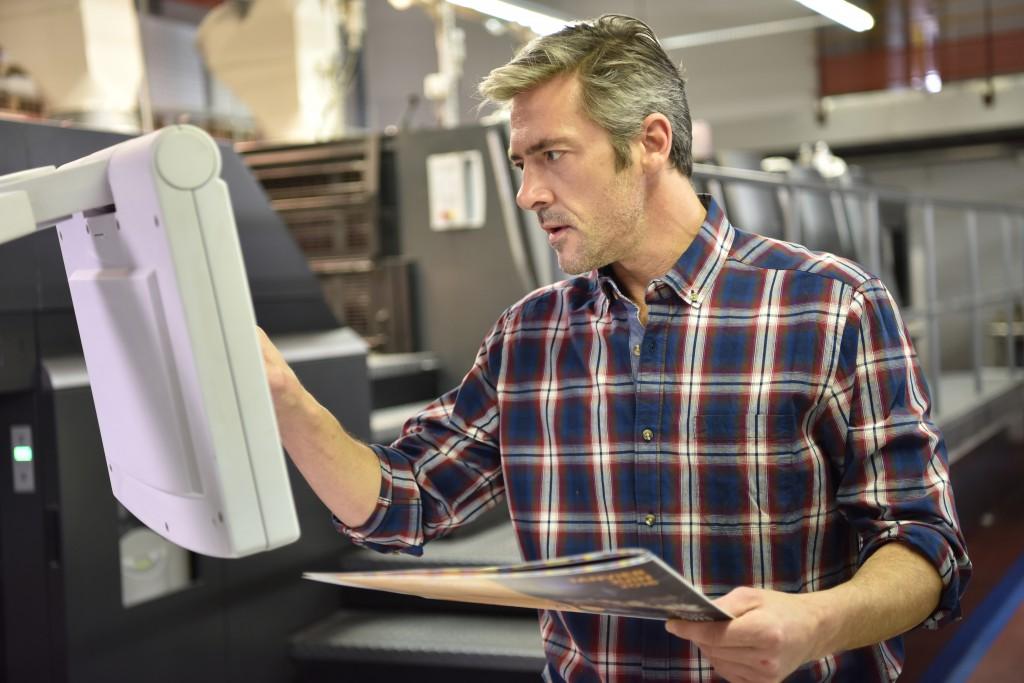 Dienstleistung für Ihre Druckerei